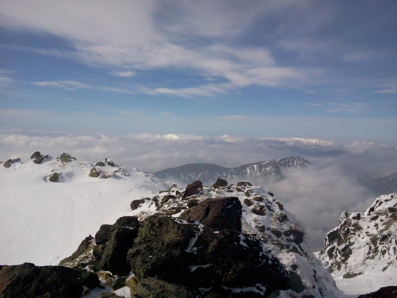 奥白根山頂上から、前白根山方向?by ゲストさん