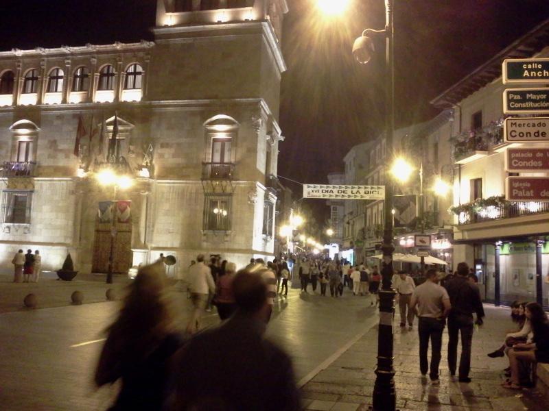 スペインレオン旧市街にて。by ゲストさん