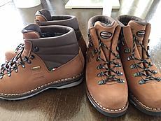 シリオ 夏用登山靴、余りにも足が痛いのでザンバランを買う。ザンバランの冬用が、調子いいので夏用も良いのかと?by ゲストさん 640x480(117KB)