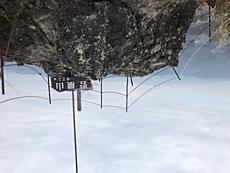 曇っていますが展望いいです。岩場なので下りは慎重に、、、、by ゲストさん 640x480(87KB)