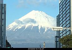 今日は快晴、富士山綺麗です。by ゲストさん 640x446(78KB)
