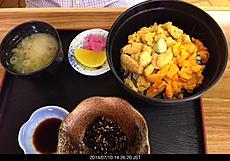 美味い。ウマいウニ丼 3200円不漁でウニが少ないが臭くなくトロッとしていて、美味しいです。by ゲストさん 640x446(123KB)