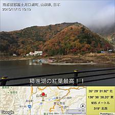 精進湖の紅葉最高!!by ゲストさん 1024x1024(311KB)