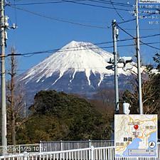青空で富士山が綺麗ですが、気温は低いです。by ゲストさん 1024x1024(295KB)