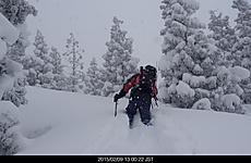 暴風雪で山頂たどり着かなかった。by ゲストさん 640x416(81KB)