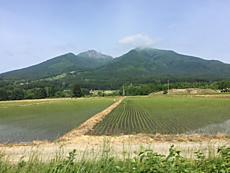 今日は綺麗です。磐梯山ご機嫌です。by ゲストさん 640x480(108KB)