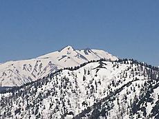 山頂からは白山クッキリ、素晴らしい展望です。by ゲストさん 640x480(112KB)