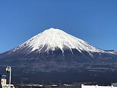 晴天 富士山綺麗です。by ゲストさんiPhoneから送信by ゲストさん 640x480(69KB)