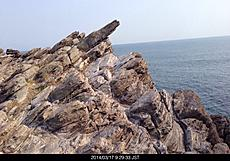 福井東尋坊近くの雄島北部の磁石岩です〜。by ゲストさん 640x446(143KB)