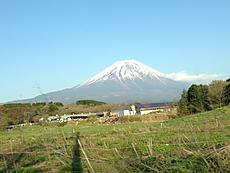 朝霧高原からの富士山 4.28by ゲストさん 640x480(112KB)