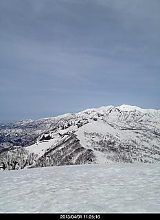 展望最高 白山クッキリ見えます。by  kazuo 466x640(104KB)