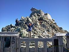 黒部室堂から10時間かけて登頂。疲れた。by yamanba 800x600(240KB)