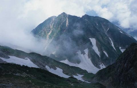 剣岳北方稜線(池ノ平山と小窓)