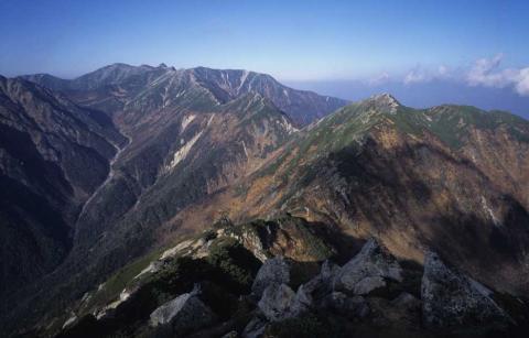 中央アルプス熊沢岳(1)