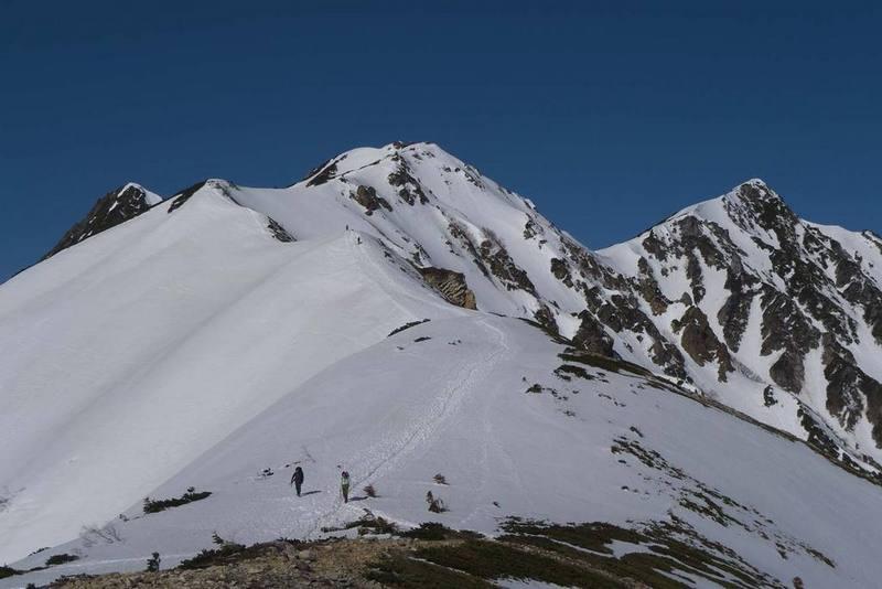 北ア・唐松岳稜線漫歩