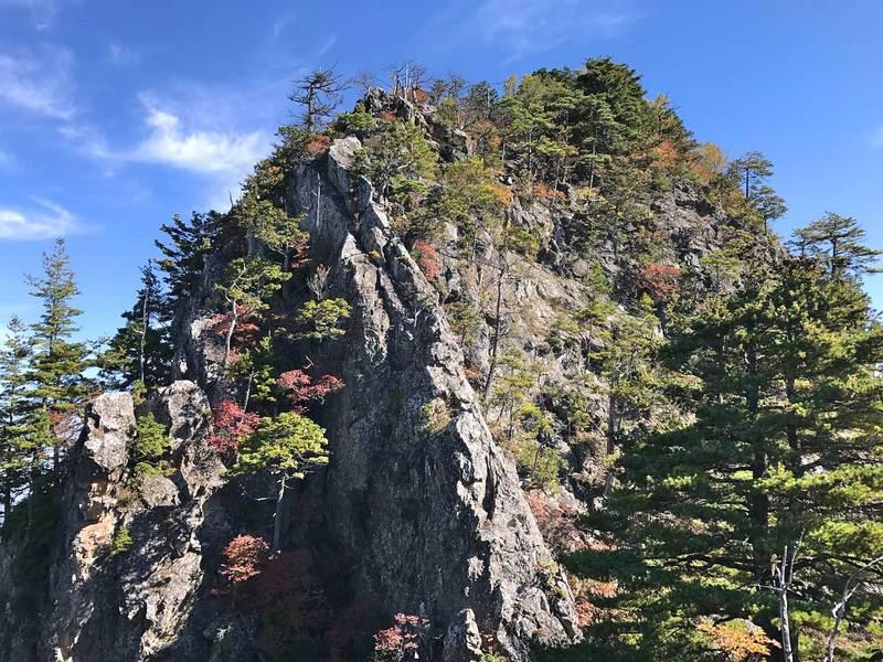 赤岩尾根(両神山)