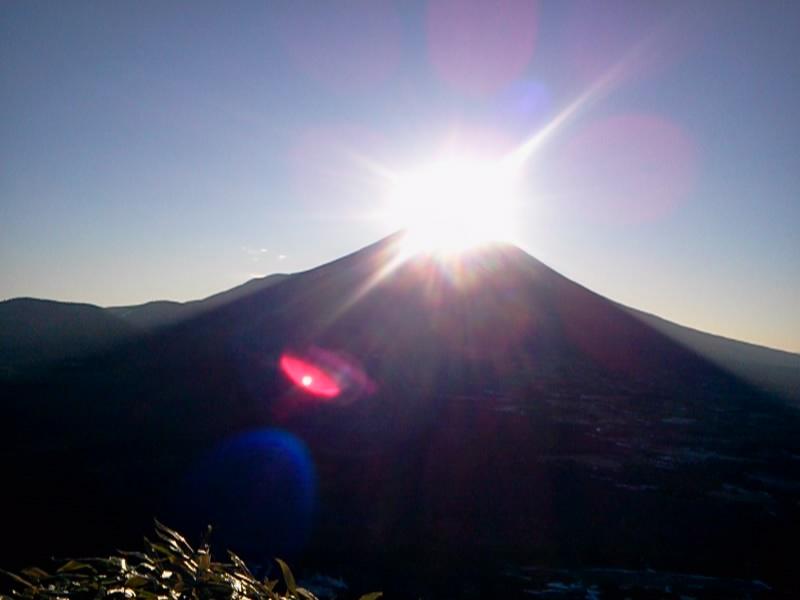 富士山 ダイヤモンド富士