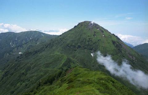 頸城の山(焼山)