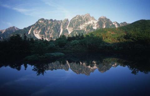 剣岳北方稜線(仙人池よりの裏剣)