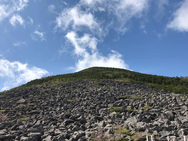編笠山〜権現岳