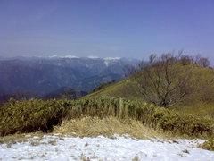 故郷の山、安倍川東山陵「青笹山」