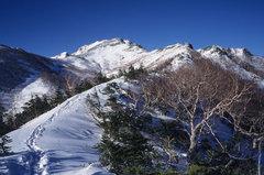 冬の空木岳(中央アルプス)