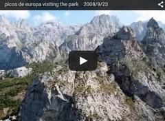 picos de europa visiting the park