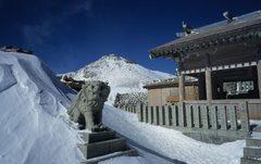 厳冬の御嶽山