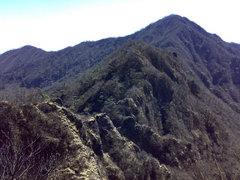 愛鷹山・鋸岳稜線
