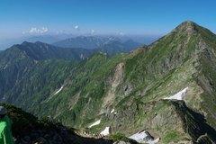 盛夏の後立山連峰