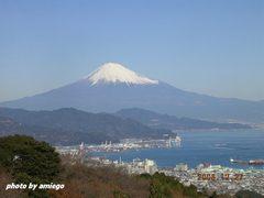 日本平より富士山です